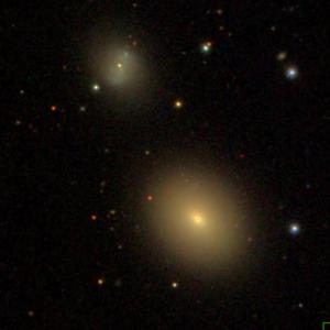 SDSS image of NGC 2778 & NGC 2779 (o) [1]