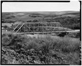 NORTH SIDE FROM EAST RIVER BANK, LOOKING SOUTHWEST - Thatcher Bridge, Spanning Bear River, Thatcher, Franklin County, ID HAER ID,21-THAT.V,1-3.tif