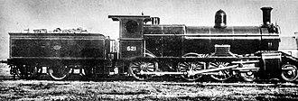 New South Wales C32 class locomotive - Class C32 'P6' Class Locomotive