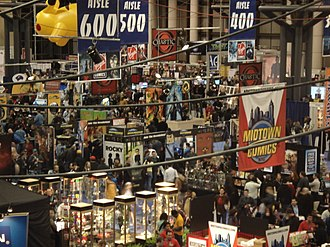 New York Comic Con - The show floor in 2007