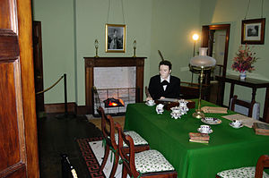 Treaty House - Recreation of the interior of the house