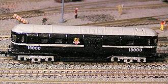 British Rail 18000 - British Rail 18000 in N scale