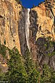 N on 395, then W through Tioga Pass on Hwy 120 into Yosemite Nat'l Park - Majestic Yosemite Falls - (28653549682).jpg