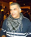 Nabeel Rajab during a protest in Bani Jamra.JPG