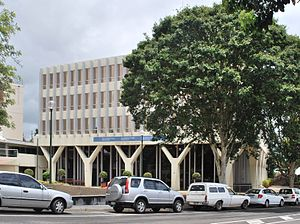 Nambour, Queensland - Nambour's Sunshine Coast Regional Council Offices