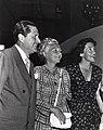 Nancy Davis with Father Dr. Loyal Davis and Mother Edith Davis.jpg