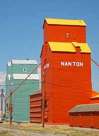 Elevators in Nanton