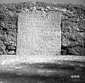 Napis na mostu med Vipavo in Slapom 1958.jpg