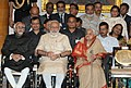 Narendra Modi at the 'At Home' reception for Freedom Fighters, hosted by the President, Shri Pranab Mukherjee, at Rashtrapati Bhavan, in New Delhi. The Vice President.jpg