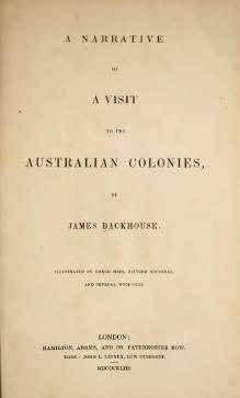 Narrative of a Visit to the Australian Colonies.djvu