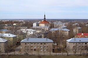 Narva old town 2009
