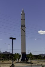 National Museum of Nuclear Science & History Redstone Rocket