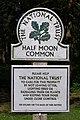 National Trust sign, Half Moon Common - geograph.org.uk - 455595.jpg