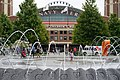 Navy Pier entrance and fountain, Chicago (49687527776).jpg
