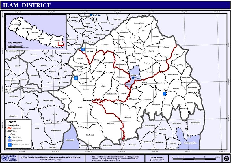 फाइल:NepalIlamDistrictmap.png