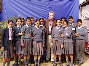 Education in Nepal - Schoolchildren in Kathmandu