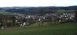 Blick auf Neuenrade.