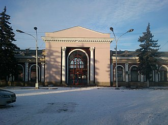 Stavropol Krai - Image: Nevinnomisk ZD Vokzal