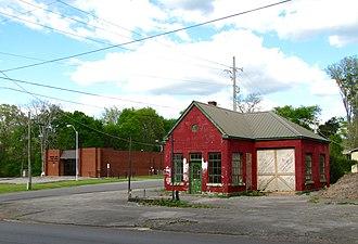 New Market, Alabama - Image: New Market buildings al 1