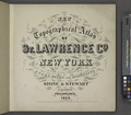 New topographical atlas of St. Lawrence County, N.Y. NYPL1601913.tiff