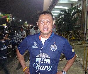Buriram United F.C. - Newin Chidchob chairman of club 2009-present.