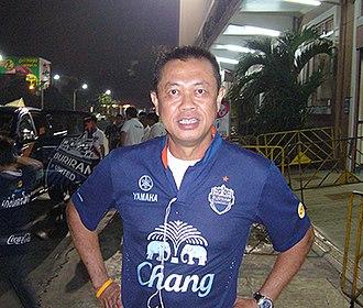 Buriram United F.C. - Newin Chidchob first chairman of club from 2009 to present.