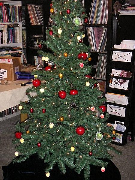 Newtonmas Tree