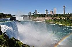 Skyline delle Cascate del Niagara, Ontario