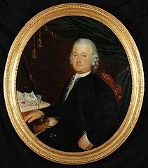 Portret van Dirk de Lange (1731-1803)