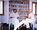 Nidadavolu malathi with kara mastaru.jpg