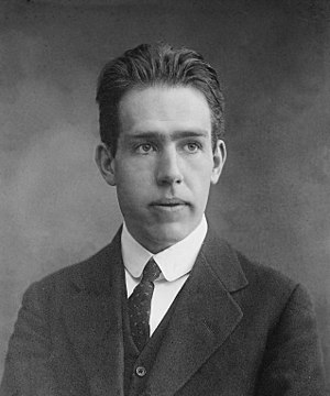 Niels Bohr as a young man. Exact date of photo...