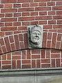 Nijmegen - Hoofd gemaakt door Egidius Everaerts op de gevel van Huis Heyendaal 01.jpg