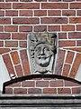 Nijmegen - Hoofd gemaakt door Egidius Everaerts op de gevel van Huis Heyendaal 11.jpg