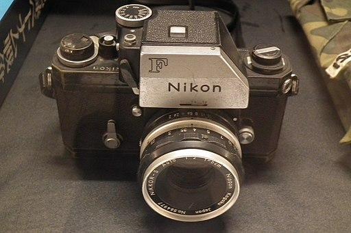 Nikon F of Bunyo Ishikawa WAR REMNANTS MUSEUM Bao Tang Chung Tich Chien Tranh 戦争証跡博物館(ホーチミン) DSCF9947