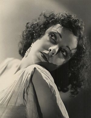 The Monkey's Paw - Nina Quatero in a publicity still from the 1933 film version.