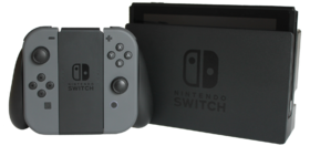 Une console Nintendo Switch