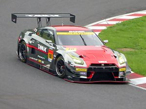 Katsumasa Chiyo - The Nissan GT-R of Chiyo, Couto and Tomita which won the GT300 class at the 2015 1000 km Suzuka.