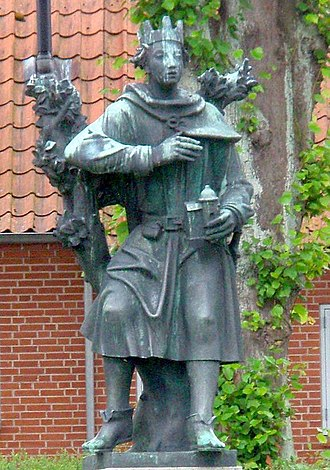 Sweyn III of Denmark - Statue of Sweyn III, in Nordborg which he had founded.