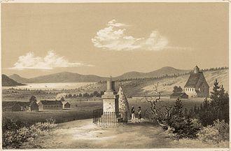Stiklestad - Stiklestad in 1848.