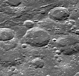 Dyson (crater) Lunar impact crater