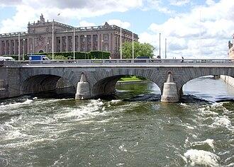 Norrström - Image: Norrström Norrbro 2010
