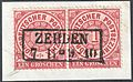 North German Confederation 1869 ZEHDEN Feuser Pr 3645.jpg