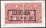 North German Confederation 1869 ZEHDEN Feuser Pr 3645.jpg