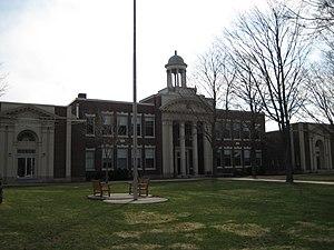 North Yarmouth Academy - North Yarmouth Academy's main building, Curtis Hall