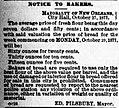 Notice to Bakers 1877 New Orleans Mayor Pilsbury.jpg