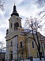 Nový Hradec Králové, kostel svatého Antonína Poustevníka, od západu.jpg