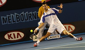 2011 ATP World Tour - Year-end world No. 1 and Player of the Year Novak Djokovic won his second, third and fourth Grand Slam titles at the Australian Open, Wimbledon  and US Open.
