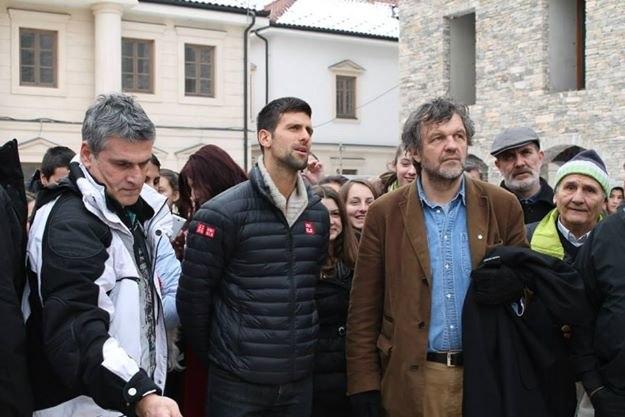 Novak Djokovic in Andricgrad