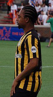 OBrian Woodbine Jamaican footballer
