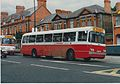 O'Rooney of Hilltown, County Down, buses (DOI 1527) & (BOI 1382), June 1991.jpg